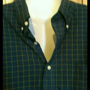 Land's end button front shirt